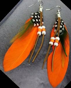 Native Art Earrings made by hand by local Artisan Yellowknife Northwest Territories image 6