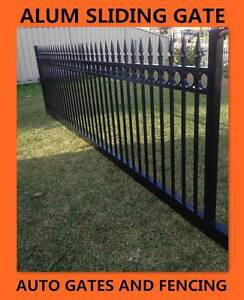 Aluminium Sliding Gate / Driveway/Front Spear and Ring Top 4.2m Seven Hills Blacktown Area Preview