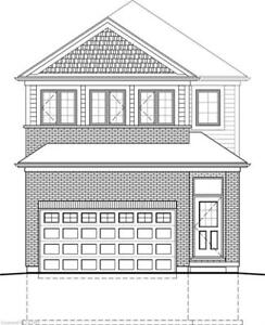 Brand New 3 Bedroom Double Garage Home for Sale $489k London Ont