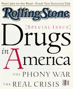 Rolling Stone Magazine 681  Drugs in America  May 5 1994