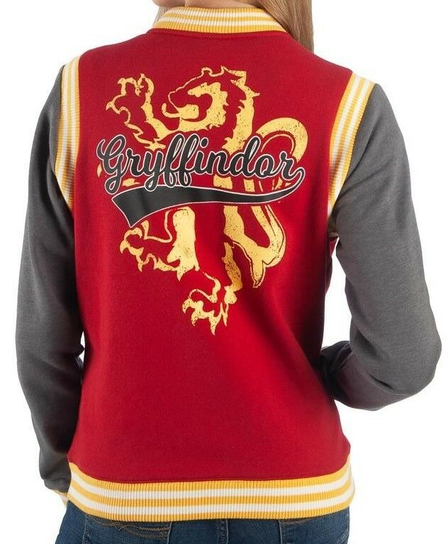 Harry Potter Gryffindor Shield Official Varsity Jacket Various Sizes