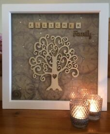 Large Family Tree Wall Art