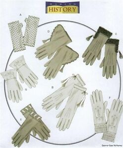 Butterick-B5370-SEWING-PATTERN-Gloves-Gothic-Regency-Victorian-Civil-War-Costume