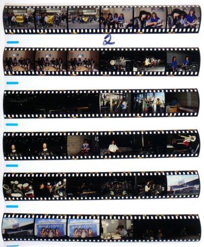 1987 MELBORNE BON JOVI PROFESSIONAL CONCERT PHOTO negative transparency LOT #2