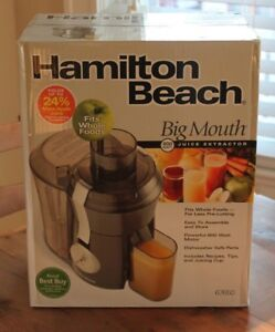 Juicer - Big mouth juice extractor