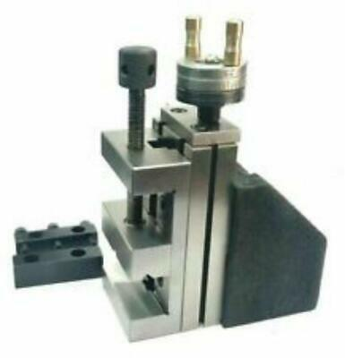 Mini Vertical Slide With 250mm Steel Vice-instant Milling On Small Bench Lathe