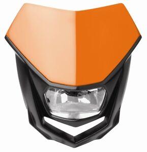New Polisport Halo Headlight Enduro Road Legal Orange KTM EXC EXC-F 200/300/350