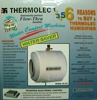 Flow Through Humidifier - Furnace Mount