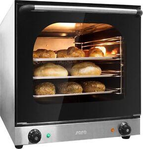 Heißluftofen Backofen Bräter Konvektomat Ofen  4 Bleche Einschübe  NEU