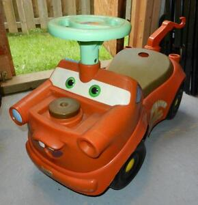 Rideable Disney Mater Baby Toy Truck/cart