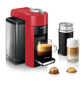 Nespresso Virtuoline Coffee Maker, Frother and Pods Included