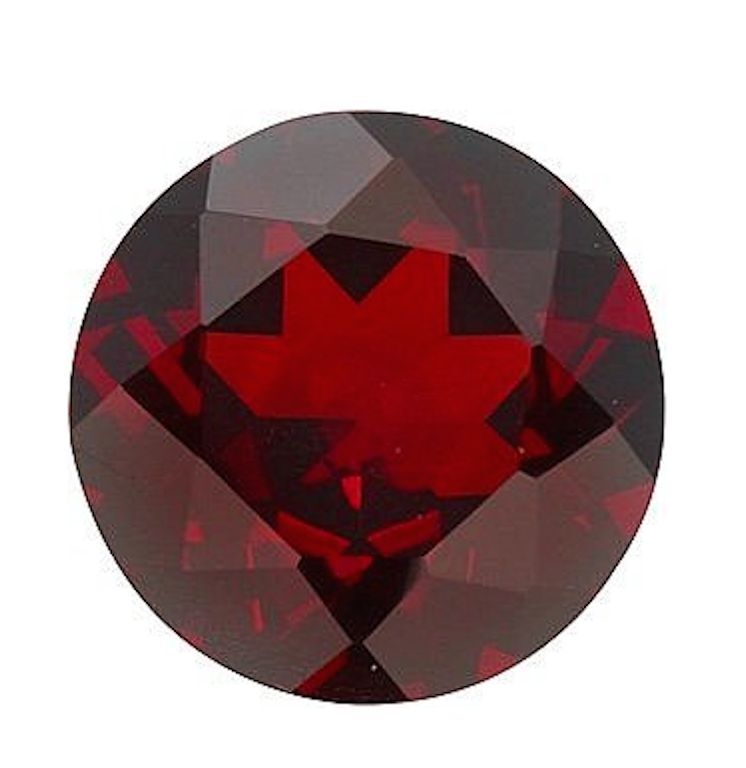 Genuine Natural Mozambique Garnet AAA Round Faceted Loose Gemstones (1mm - 10mm)