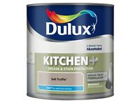 Dulux Soft Truffle Kitchen Matte Paint 2.5ltr
