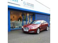 Jaguar XF Luxury 240 3.0TD 2014 In Red With Full Jaguar History