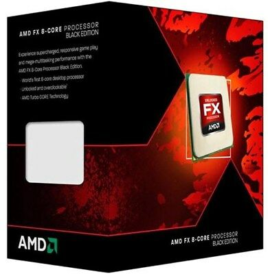 AMD FX 8350 - 4.0GHz Octa Core Socket AM3+ Processor