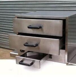 Infernus Bun Warmer /Warming Drawer Cabinet Catering Kitchen Equipment New