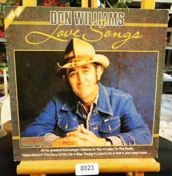 Lp Don Williams in online veiling