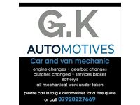 Reliable mechanic, competitive rates, cover All Essex, friendly based in maldon
