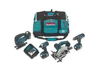 Marita kit 4 piece power tool kit, swap for Milwaukee or same value items