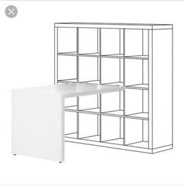 IKEA Kallax Desk ( white)