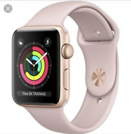iWatch series 3 - pink