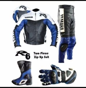 Custom made leather Motorcycle Suit Suits