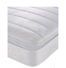 New Kingsize 5ft airsprung Pillow Topped Mattress