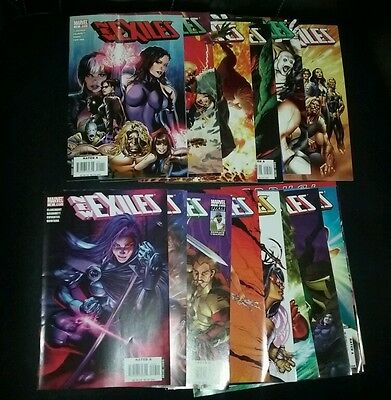 New Exiles #1-18 Complete Series run set lot movie marvel comics collection