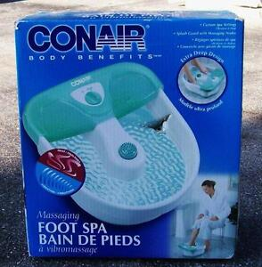 Conair and Dr Scholl's Foot Spa