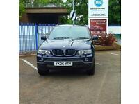 BMW X5 2005 3.0d Diesel Auto Sport In Dark Blue