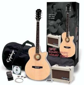 Epiphone PR-4E Acoustic-Electric Guitar Player Pack - NEW IN BOX
