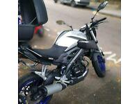 Yamaha MT-125 2014 motorbike