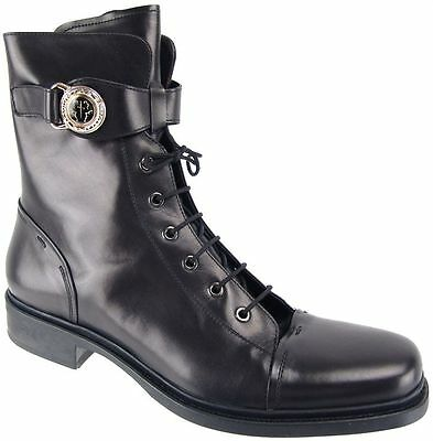 CESARE PACIOTTI COMBAT STYLE FASHION BOOTS US 7.5 SHOES