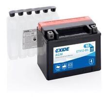 Batterie moto YTX12-BS ETX12-BS Exide 12V 10AH 180A 150X90X130MM