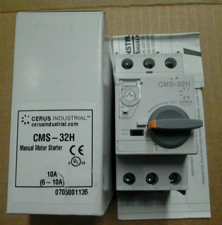 Cerus Industrial Manual Motor Starter CMS-32H 2.5~4A 690V