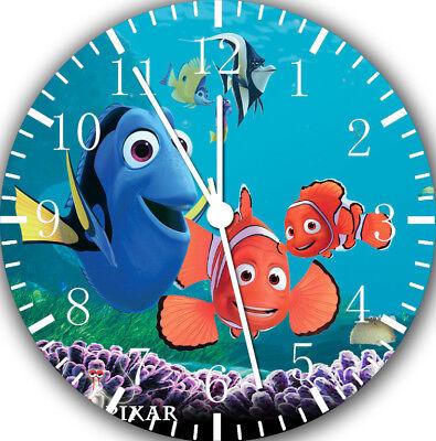 Disney Finding Nemo Frameless Borderless Wall Clock Nice For Gifts or Decor E327