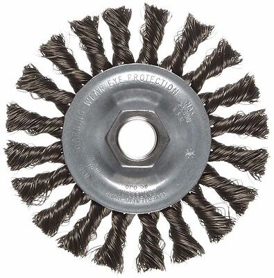 Weiler 36012 Vortec Pro 4 X 58-11 Std Twist Knot Wire Wheel .014 Wire X0753