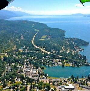 BIGFORK, MONTANA On FLATHEAD LAKE ...Bigfork Bay
