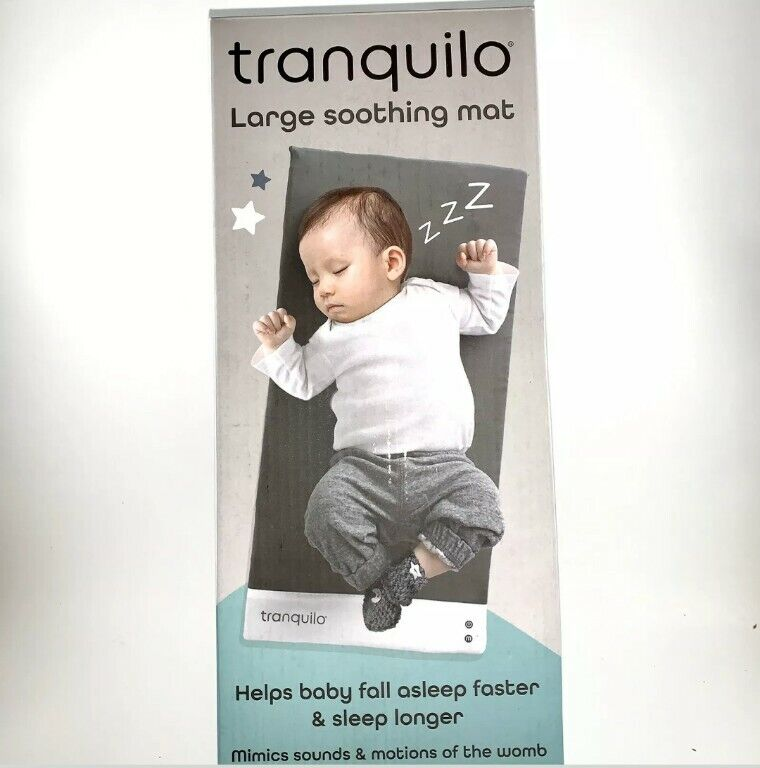 Tranquilo Baby Sooothing Mat Large 23 x 12 New in box