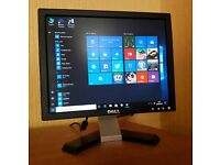 "Dell 15"" Monitor for desktop computer or cctv etc..."