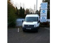 Ford Transit 2.2TDCi T330 2011 Hi Roof LWB One Owner Full Ford History