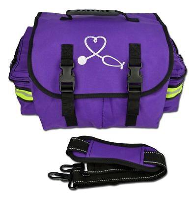 Purple Lightning X Small First Responder Bag Wdividersmedical Trauma First Aid