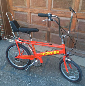 Raleigh Chopper - Retro Muscle Bike