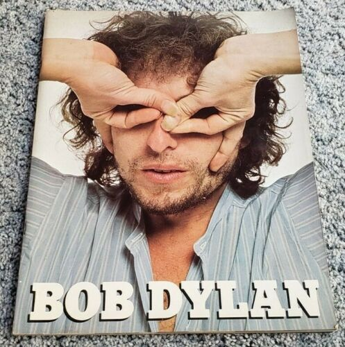 BOB DYLAN 1978 STREET LEGAL TOUR OFFICIAL PROGRAM BOOK Vintage Concert Souvenir