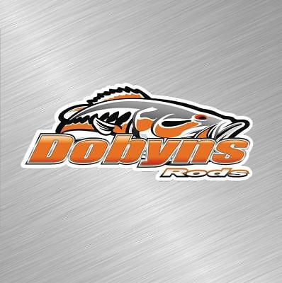 Dobyns Rods Vinyl Decal Sticker Fishing Lure Rod Reel Tackle Bass Boat Fish Bait Tackle Bass Fishing Boat