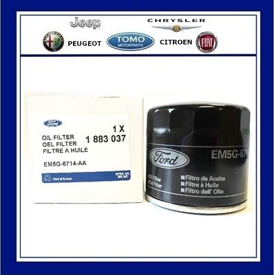 Genuine New Ford Fiesta 2002 - 2008 1.25 Oil Filter 1883037