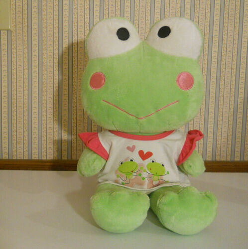 "Build A  Bear plush 18"" KEROPPI Frog with shirt Sanrio Hello Kitty friend BAB"