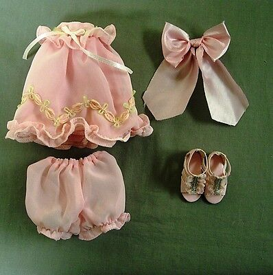 """TONNER EFFANBEE PATSY DAINTY DRESS UP OUTFIT FOR 10"""" ANN ESTELLE & HALF PINT NEW"""