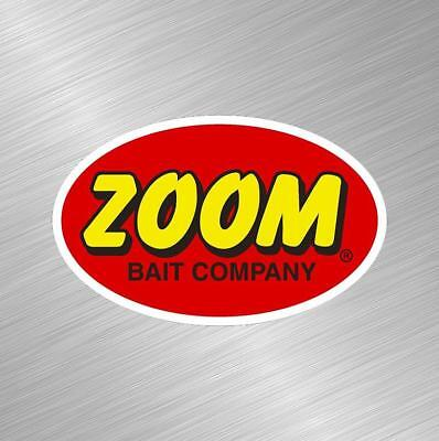 Zoom Baits Vinyl Decal Sticker Fishing Lure Rod Reel Tackle Bass Boat Fish Bait Tackle Bass Fishing Boat