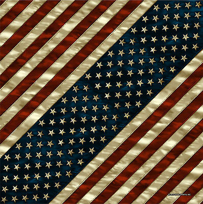 Biker Chopper Motorrad USA Amerika Flagge Flahne Bandana Tuch Kopftuch Halstuch